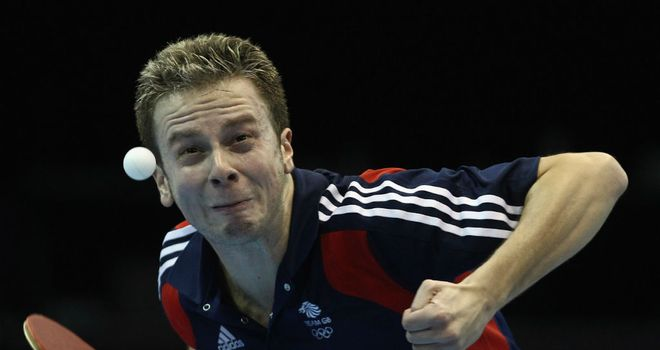 Andrew Baggaley: The British hopeful is ready for the 2012 challenge.
