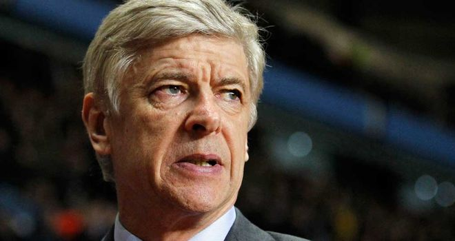 Arsene Wenger: Looking for his side to be positive against AC Milan
