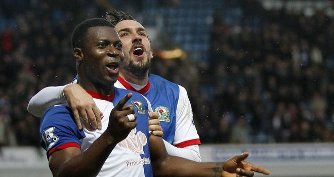 Yakubu: Scored four goals against Swansea to take his tally to 10 for the season