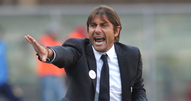 Antonio Conte: Juventus manager will lead his side in the Super Cup against Napoli