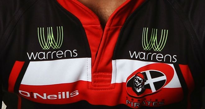 Cornish Pirates: Bolstered their ranks with the capture of Peter Joyce