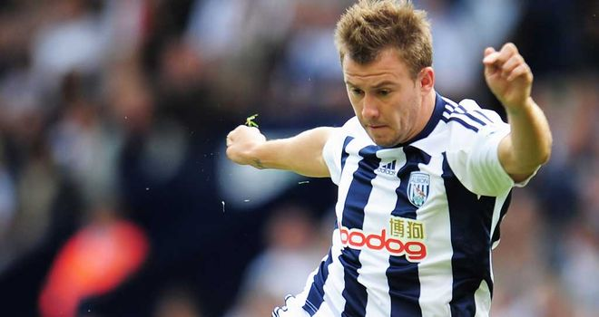 Simon Cox: Set to sit down and discuss his future at West Brom at the end of the season