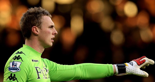 David Stockdale: Could be sent out on loan by Fulham this season