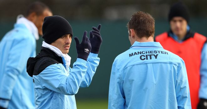 Gloves must come off: Silva and his team-mates must scrap all the way, says Ray