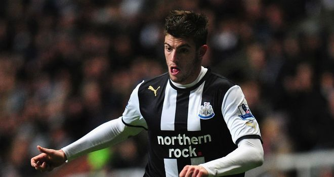 Davide Santon: Enjoying life at Newcastle, according to his agent