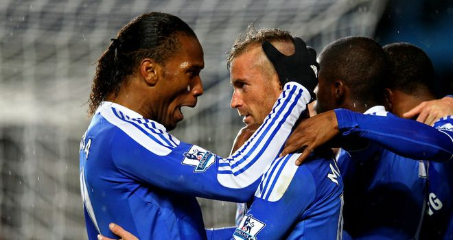 Didier Drogba & Raul Meireles: Have helped Chelsea pick up positive results at home and abroad