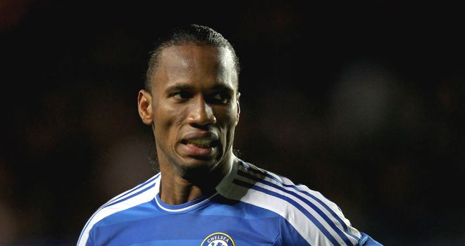 Didier Drogba: Linked with a move away from Chelsea with his deal due to expire in the summer