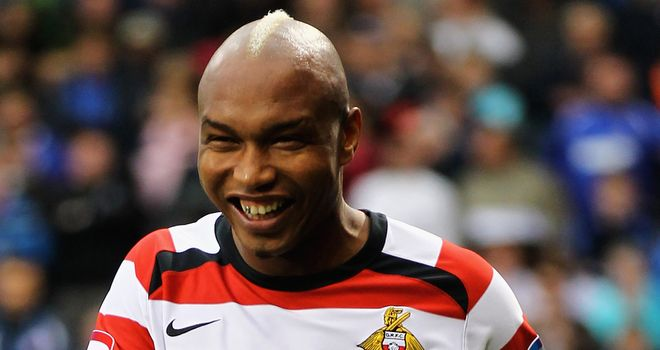 El Hadji Diouf: His short-term deal at Doncaster is due to expire in January