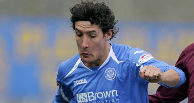 Francisco Sandaza: St Johnstone striker has enjoyed an impressive seasn at McDiarmid Park