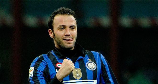 Giampaolo Pazzini: Deemed surplus to requirements at Inter Milan