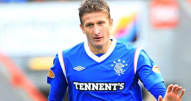 Dorin Goian: Has enjoyed his time at Ibrox, despite the off-field troubles