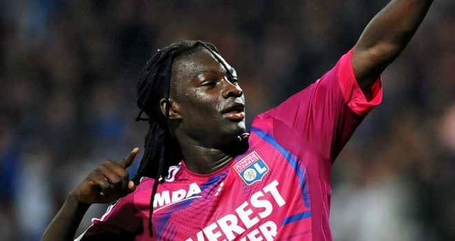 Bafetimbi Gomis: Scored as Lyon came from two goals down to earn draw at Marseille