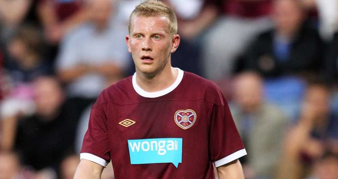 Andy Driver: Not in a rush to leave Hearts