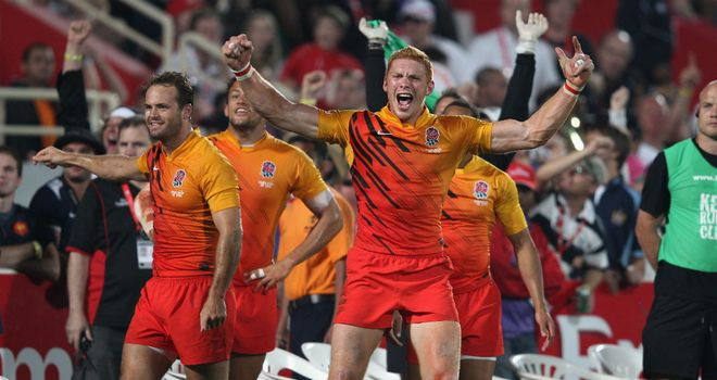 James Rodwell: Celebrates victory against France in 2011.