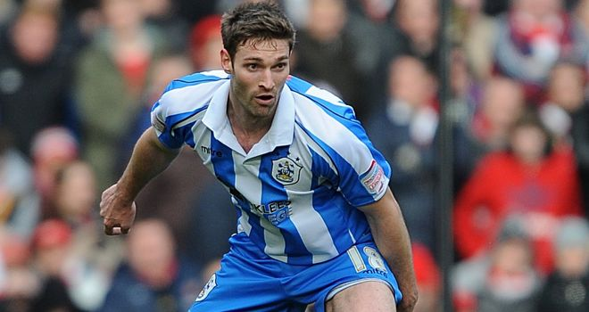 Jamie McCombe: Huddersfield were unable to recall the defender from his loan spell at Preston