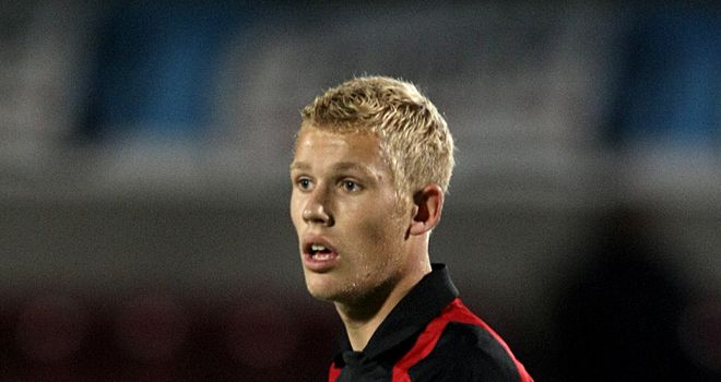 Stockley: Scored a brilliant goal