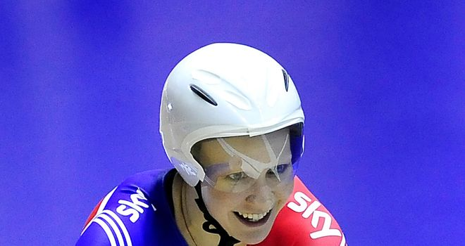 Joanna Rowsell: Lottery funding has been crucial in her professional career