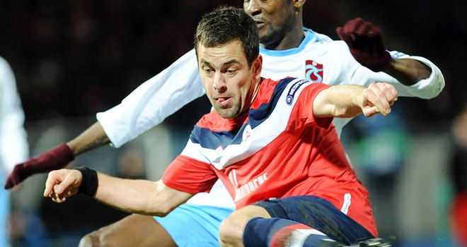 Joe Cole: Has returned to Liverpool but Lille are keen on taking him back