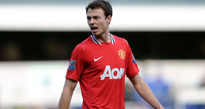 Jonny Evans: Put in a commanding display against Liverpool on Saturday