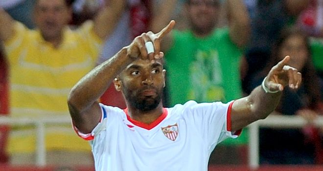 Frederic Kanoute: Scored in stoppage time to seal Sevilla's victory