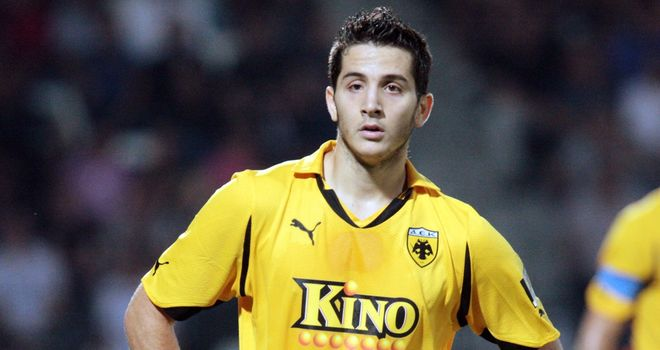 Kostas Manolas: Former Everton target on his way to Ukraine