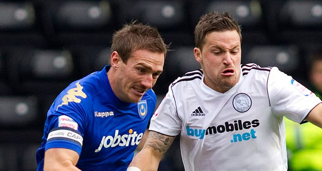 Chris Maguire: The striker has played only eight times for Derby
