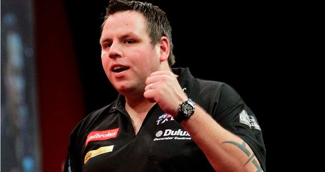 Adrian Lewis: Not happy with the Alexandra Palace crowd