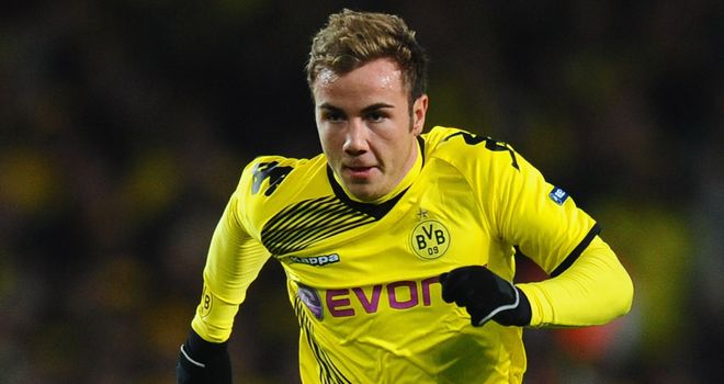 Mario Gotze: Out for two months
