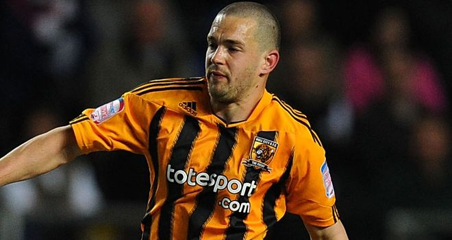Fryatt: On target to secure a draw for Hull