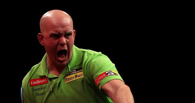 Michael van Gerwen: First appearance in last 16
