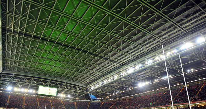 The Millennium Stadium in Cardiff will host a double-header to launch the 2013 World Cup