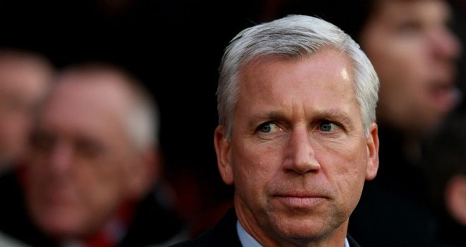 Alan Pardew: Has ruled out signing a striker next month after Maiga deal collapsed