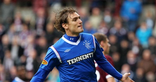 Nikica Jelavic: Rangers striker not thinking about a January move after being linked with other clubs