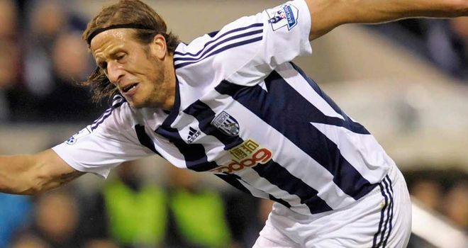 Jonas Olsson: Has only 12 months left to run on his current contract at The Hawthorns
