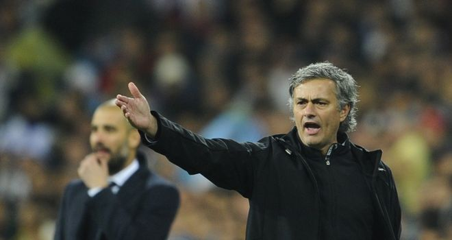Jose Mourinho: Saw Real Madrid suffer derby defeat at Santiago Bernabeu