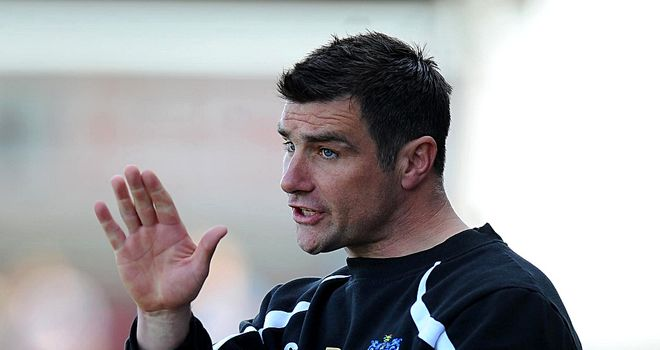 Richie Barker: Poised to take charge at Crawley after leaving Bury