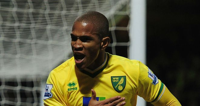 Simeon Jackson: The Norwich striker is loving life in the Premier League and admits it's a long way from his days at McDonald's