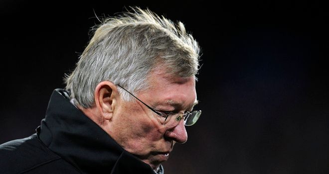 Sir Alex Ferguson: Has called on United to respond to their Champions League exit