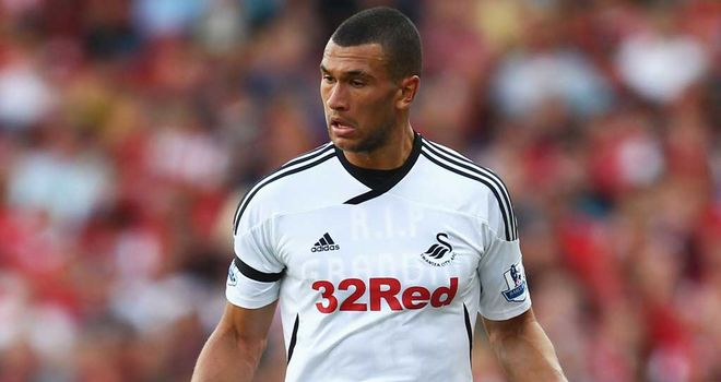Steven Caulker: Hoping to extend Swansea's impressive run of form against Fulham