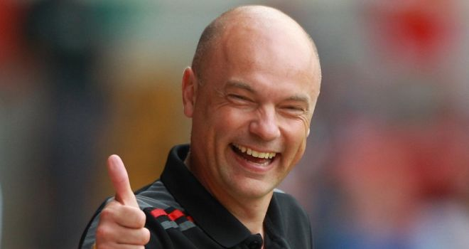 Uwe Rosler: Happy with the contribution of his substitutes