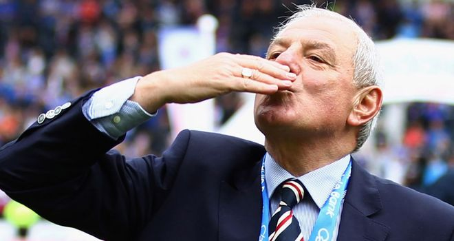Walter Smith: Has emerged as the new favourite to fill the vacant managerial post at Wolves