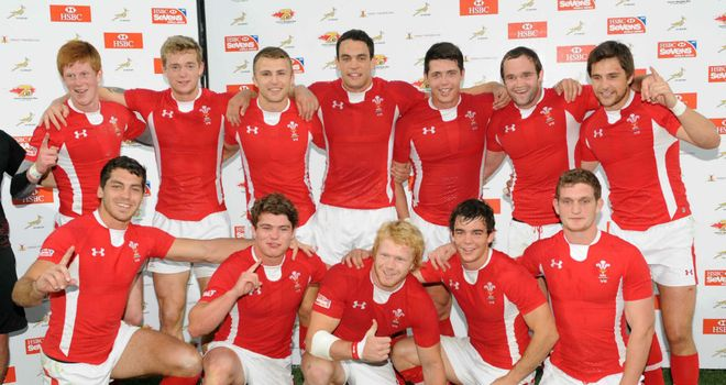Wales: The Plate winners in Port Elizabeth