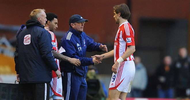 Jonathan Woodgate: Replaced by Jermaine Pennant after just 19 minutes at Molineux