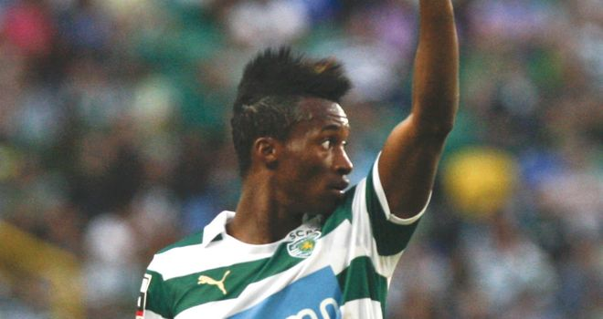 Yannick Djalo: Linked with a loan move away from Sporting
