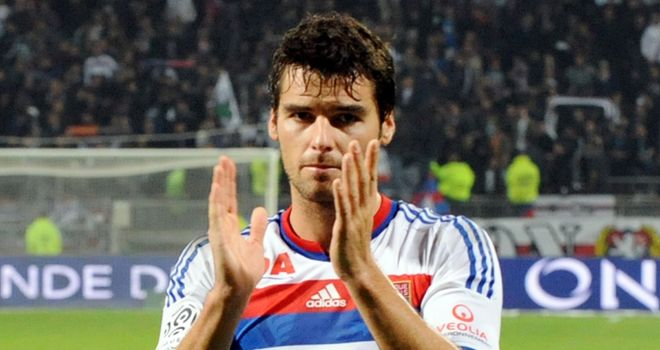 Yoann Gourcuff: Staying at Lyon this month, according to president Aulas