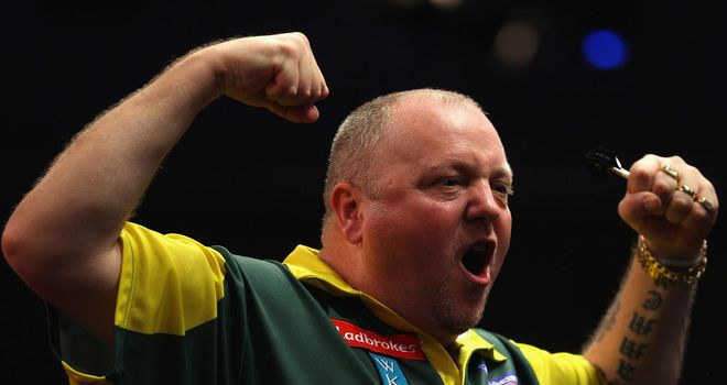 Andy Hamilton: Finished with a 102 average against Huybrechts
