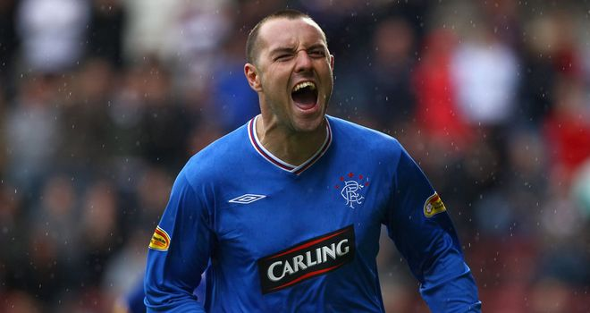 Kris Boyd: Former Rangers striker is available as a free agent after leaving Eskisehirspor