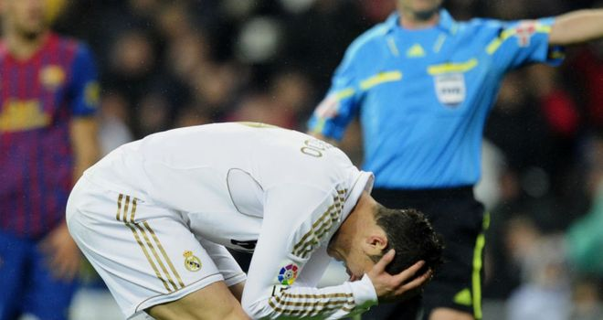 Ronaldo: Frustration against Barca