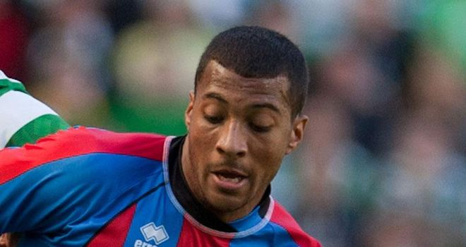 David Davis: Will not be extending his loan stay at Inverness from Wolves