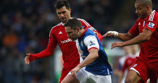David Dunn: Signed a new deal at Blackburn until 2013